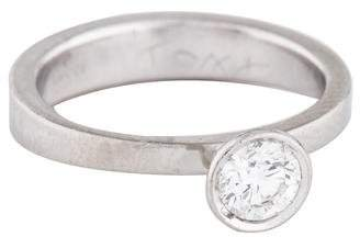 Gucci Platinum Diamond Engagement Ring
