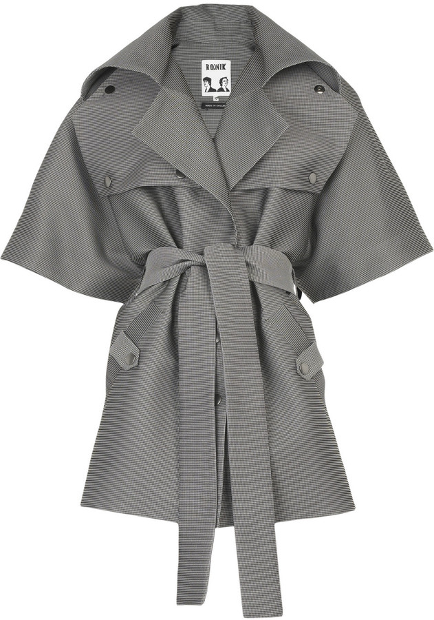 Rodnik Horror Show trench coat
