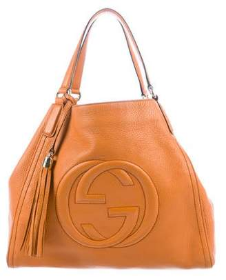 f59ee855aef4 Gucci Orange Handbags - ShopStyle