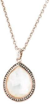 Ippolita Diamond, Quartz & Mother of Pearl Stella Pendant Necklace