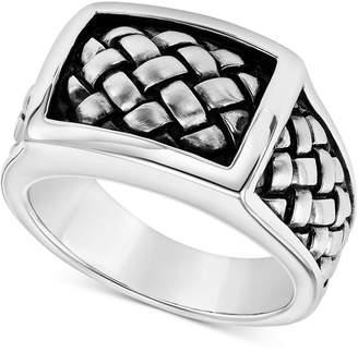 Scott Kay Men's Weave-Look Ring in Sterling Silver