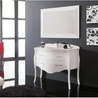 Everly Quinn Scarlet Modern 45 Single Bathroom Vanity Set