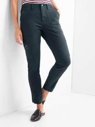 Gap High rise skinny ankle utility chinos