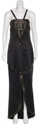 Chanel Embellished Silk Dress