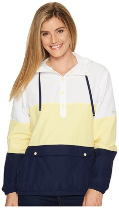 Columbia - Harborside Windbreaker Women's Long Sleeve Pullover $65 thestylecure.com