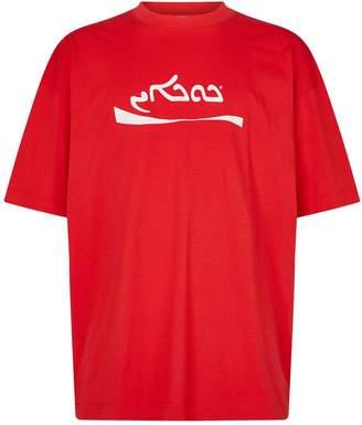 Vetements Cocaine Logo T-Shirt