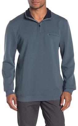 Ted Baker Leevitt Half Zip Tall Fit Sweater