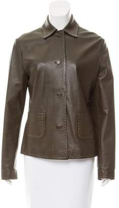 Beretta Lightweight Leather Jacket