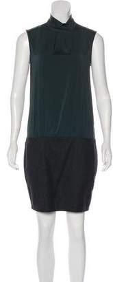 Brunello Cucinelli Sleeveless Silk & Wool Dress