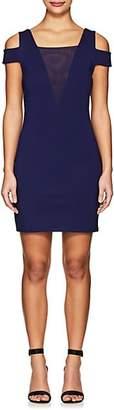 Halston Women's Cold-Shoulder Fitted Dress - Dk. Blue