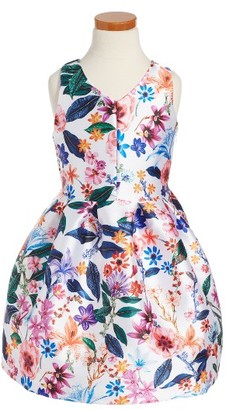 Toddler Girl's Pippa & Julie Floral Print Dress $58 thestylecure.com