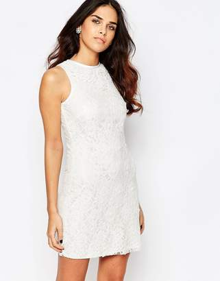 A Star Is Born Sleeveless Lace Shift Dress $89 thestylecure.com