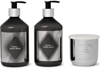 Tom Dixon Royalty Scented Candle, Hand Wash And Hand Balm Set - Colorless