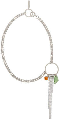 Justine Clenquet Silver Faye Necklace