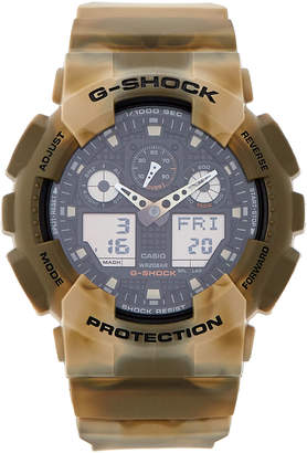 G-Shock G Shock GA100MM-5A Camo Analog-Digital Watch