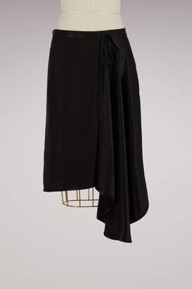 Acne Studios Sima Asymmetric Skirt