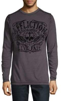 Affliction Graphic Cotton Tee