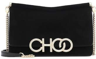 Jimmy Choo Sidney suede shoulder bag