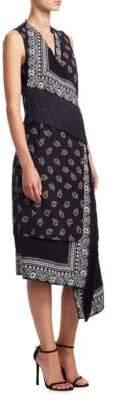 Altuzarra Bina Bandana Print Dress