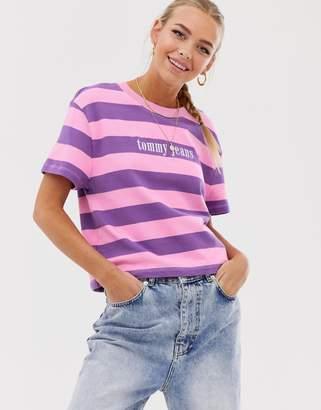 e01c2ce2 Tommy Jeans Logo Top - ShopStyle UK