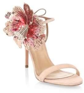 Aquazzura Disco Flower Sandals