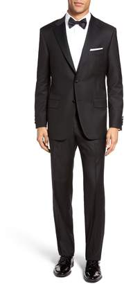 Hickey Freeman Classic B Fit Wool Tuxedo