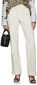 Helmut Lang Women's Cotton Corduroy Wide-Leg Trousers - White