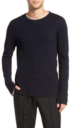 Vince Thermal Knit Long Sleeve T-Shirt