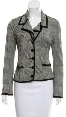 Herve Leger Wool-Blend Knit Jacket