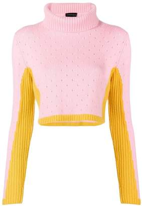 Cashmere In Love cashmere two tone jumper