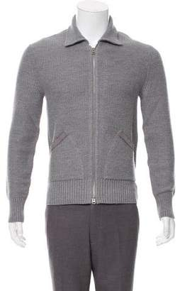 Tom Ford Wool Zip-Up Sweater