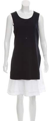 Theory Sleeveless Mini Dress