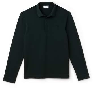 Lacoste Men's Long-sleeve Paris Polo Regular Fit Stretch Cotton Pique