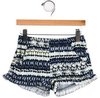 Imoga Girls' Printed Shorts