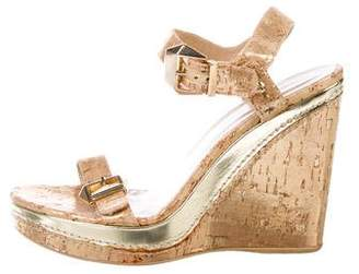 cdacb7b32a7 Brown Cork Platform Women s Sandals - ShopStyle
