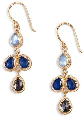 Anna Beck Stone Chandelier Earrings