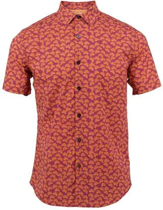 Mulberry Lords of Harlech - Scott Shirt In Leaves