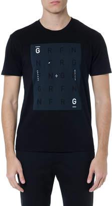 Mauro Grifoni Printed Black Cotton T-shirt