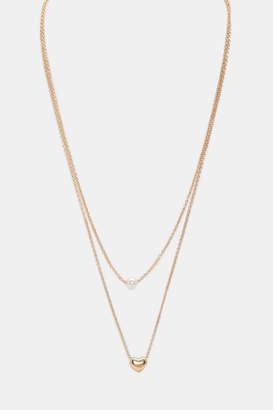 Ardene Delicate Heart Necklace