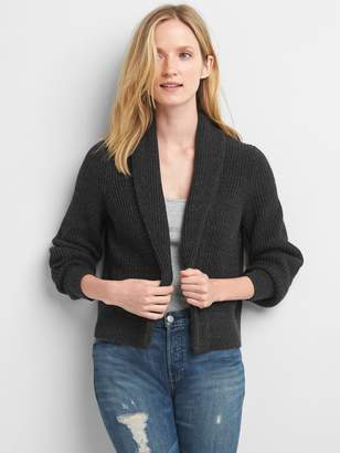 Gap Ribbed open-front cardigan