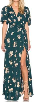 For Love & Lemons Plaza Kimono Dress