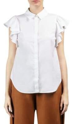 Stella McCartney Ruffle-Sleeve Shirt