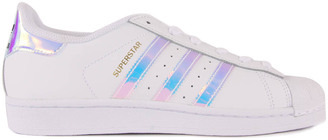 ADIDAS Iridescent Superstar Lace-Up Trainers $87.60 thestylecure.com