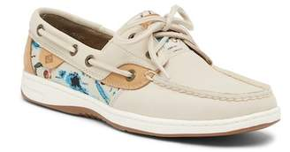 Sperry Blue Fish Print Boat Shoe