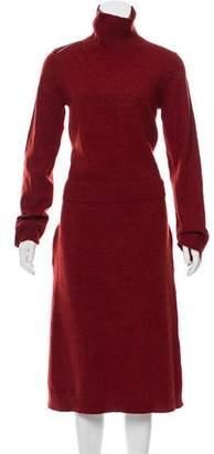 Celine Wool-Blend Sweater Dress