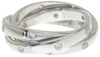 Sterling Forever Women's Sterling Silver Triple Roll Etoile Ring