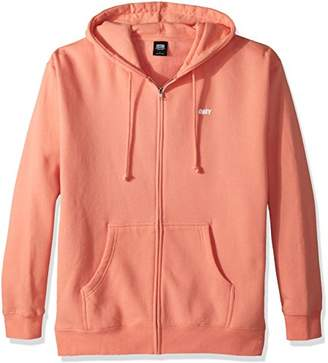 Obey Men's Jumble Lo-Fi Hooded Zip Sweatshirt