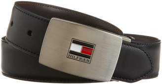 Tommy Hilfiger Men's Reversible Interchangeable-Buckle Belt Gift Set