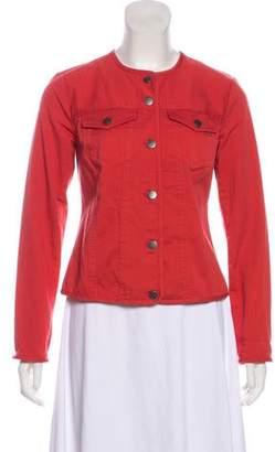 Pendleton Collarless Woven Jacket