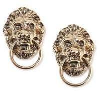 Topman Mens Gold Lion Collar Tips*